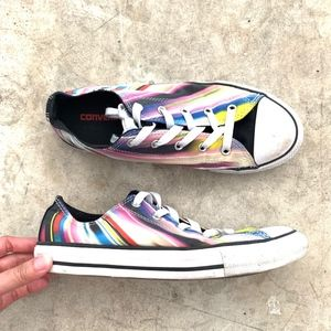 Converse All Star Rainbow Lace-Up Fashion Sneakers